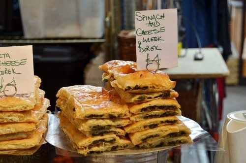 Spinach and Cheese Borek in London