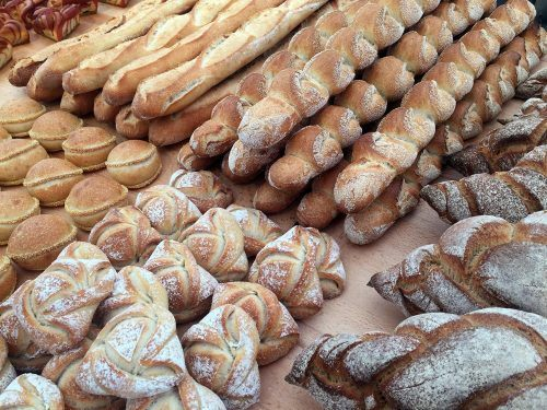 Brotauswahl am Nordic Bakery Cup