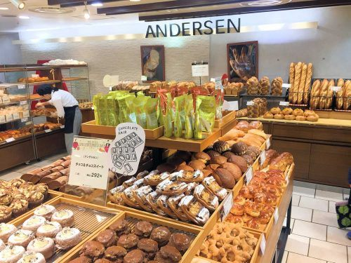 Andersen, Top-Bäckerei in Japan