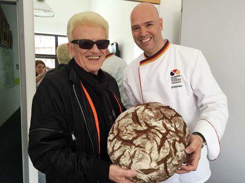 Der BrotExperte mit Heino im ZDF Fernsehgarten