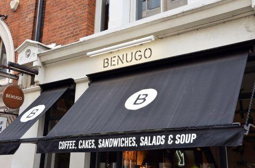 Benugo Café in London