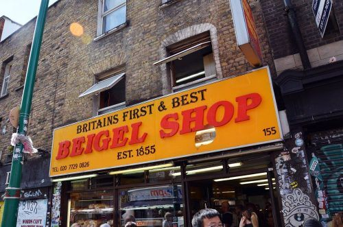 Beigel Shop in London