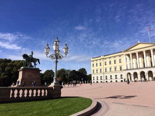Königsschloss in Oslo