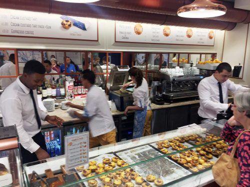 Pasteis de Nata – Bäckereien in Lissabon